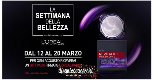 Camomilla Italia ti regala il Gift Pack di L'Oreal