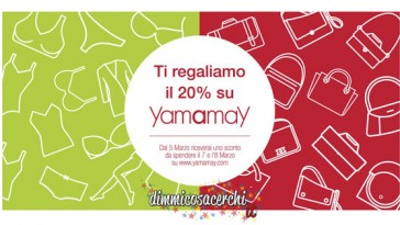 Carpisa ti regala Yamamay per la festa della donna