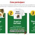 Concorso Amadori, vinci 140 T-shirt personalizzate e Polaroid