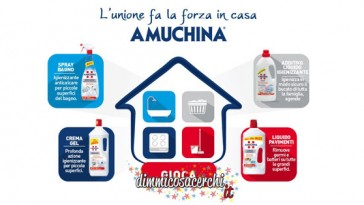 Concorso Amuchina, vinci buoni Mediaworld e KitchenAid