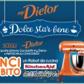 Concorso Dietor, vinci robot KitchenAid