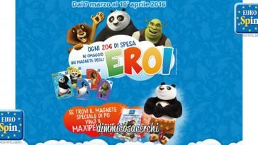 Concorso Eurospin, vinco il maxi peluche Po di Kung Fu Panda