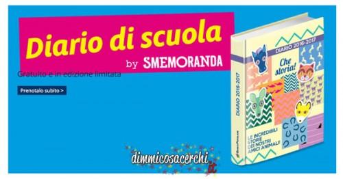 Diario Smemoranda omaggio con Banco Popolare