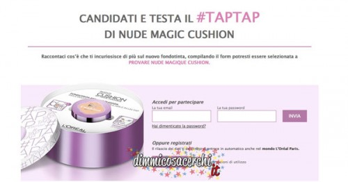 Diventa tester Nude Magic Cushion di L'Oreal Paris