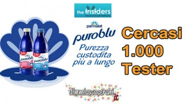 Diventa tester Parmalat PuroBlu