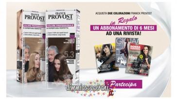 Franck Provost di regala abbonamenti riviste