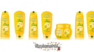 Fructis Oil Repair 3, diventa tester con Garnier