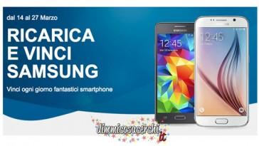 Ricarica Tim e vinci Samsung Galaxy S6