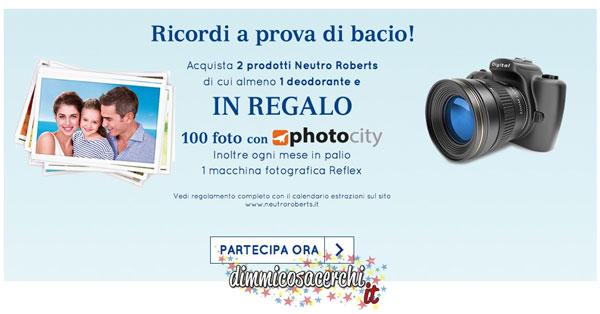 Stampa 100 foto gratis con Neutro Roberts