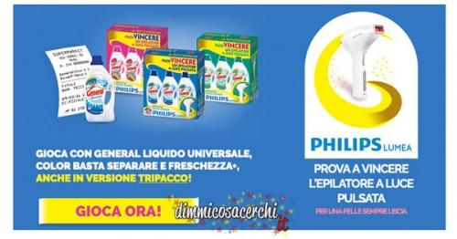 Vinci epilatori a luce pulsata Philips con General