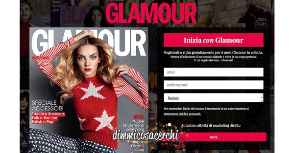 Abbonamento Glamour in omaggio