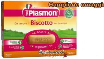 Biscotti Plasmon omaggio