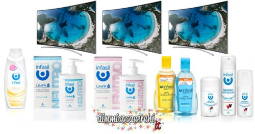 Concorso Infasil, vinci TV curvo 48'' Samsung