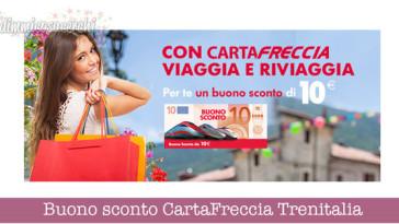 Buono sconto CartaFreccia Trenitalia