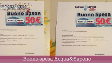 Buono spesa Acqua&Sapone