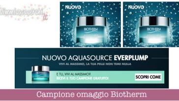 Campione omaggio Biotherm Aquasource EverPlump