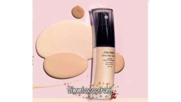 Campione omaggio fondotinta Shiseido