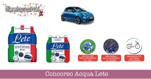 Concorso Acqua Lete (instant win)