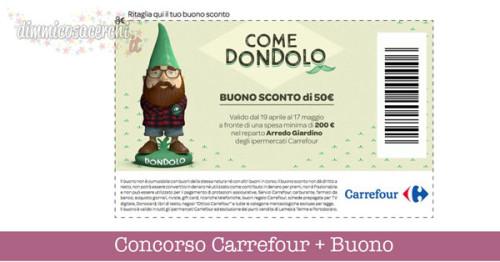 Dondolo Da Giardino Carrefour.Concorso Carrefour Subito Un Buono Sconto Instant Win
