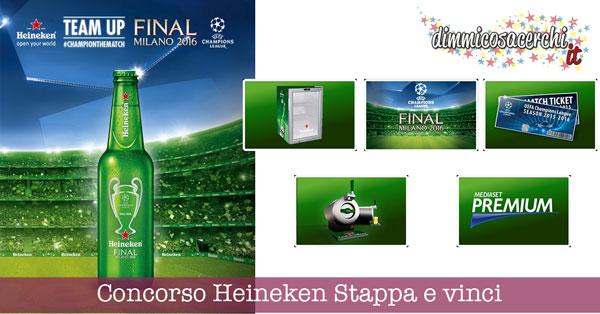 Concorso Heineken Stappa e vinci