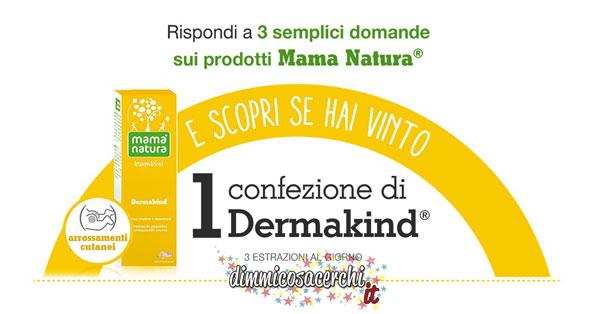 Concorso Mama Natura, vinci kit di prodotti per bambini