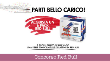 Concorso Red Bull, vinci forniture
