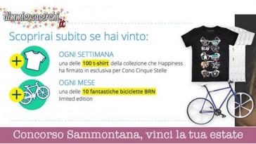 Concorso Sammontana, vinci la tua estate italiana