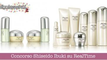 Concorso Shiseido Ibuki su RealTime
