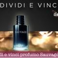 Condividi e vinci profumo Sauvage Dior