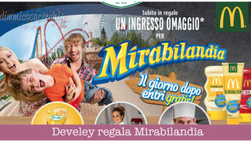 Develey regala Mirabilandia