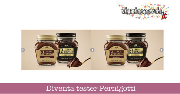 Diventa tester Pernigotti