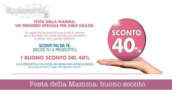 Festa della Mamma, buono sconto PamPanorama