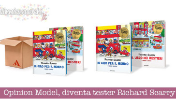 Opinion Model, diventa tester Richard Scarry
