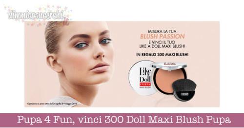 Pupa 4 Fun, vinci 300 Doll Maxi Blush Pupa