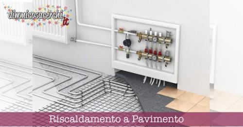 Risparmiare con riscaldamento a pavimento