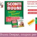 Sconti e Buoni Despar, nuovi coupon per la spesa