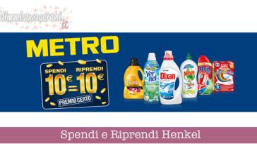 Spendi e Riprendi Henkel da Metro