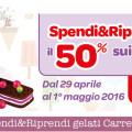 Spendi&Riprendi sui gelati Carrefour