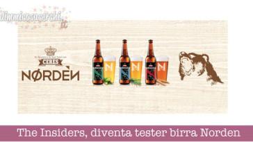The Insiders, diventa tester birra Norden
