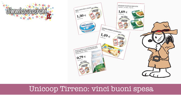 Unicoop Tirreno: vinci buoni spesa
