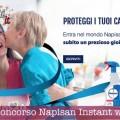 Vinci bracciali LeBebè con Napisan (instant win)