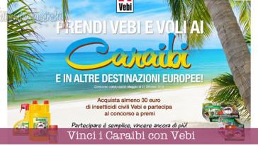 Vinci i Caraibi con Vebi