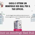 Vinci un minifrigo Red Bull