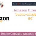 Promozione buoni regalo Amazon: 8€ in omaggio