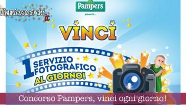 Concorso Pampers, vinci servizio fotografico