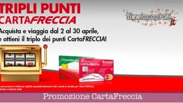 Trenitalia, promozione punti CartaFreccia