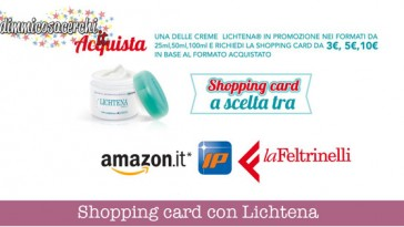 Lichtena ti regala una shopping card