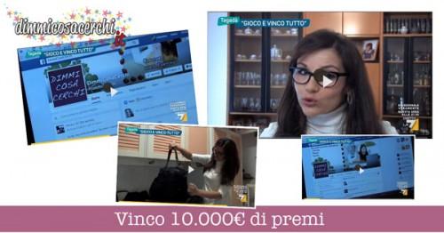 Valentina, gioca e vinci tutto ai concorsi a premio