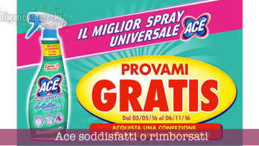 Ace Spray: provami GRATIS
