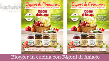 Blogger in cucina con Rigoni di Asiago